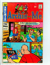 vintage comic book archie and me no.68 1974