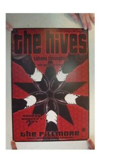 The Hives Concert Poster The Fillmore August 1, 2004  Sahara Hotnights