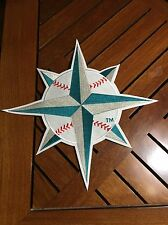 Seattle Mariners Baseball Cloth Jacket Patch 14""