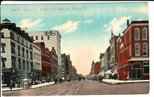 Early 1900's Adams St., South from Main St. in Peoria, IL Illinois PC
