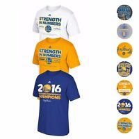 Golden State Warriors Adidas NBA Finals Championship Commemorative T-Shirt Men's