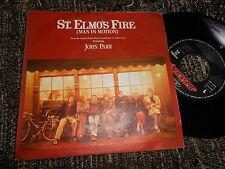 "ST.ELMO'S FIRE BSO OST JOHN PARR Treat me like an animal +1 7"" 1985 SPAIN"