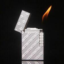 Flint Lighter Butane Gas Metal Regular Flame Refillable Cigarette Cigar Lighters