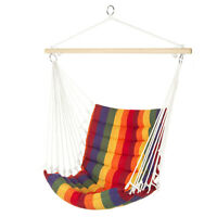 Heavy Hanging Chair Hammock Swing INDOOR/OUTDOOR Beach Backyard Patio Deck Seat