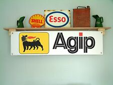 AGIP Banner for Workshop, Garage,Sign  F1, Motorsport, Fuel Racing