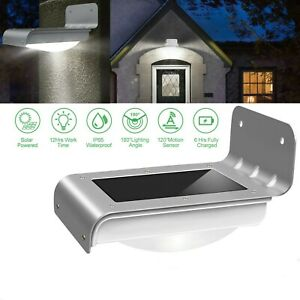 Solar Power Light 16 LED Motion Sensor Garden Security Lamp Outdoor Waterproof