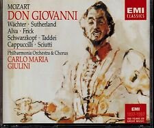 DON GIOVANNI & GIULINI - MOZART - MINT 3 CD BOX SET & 203 PAGE BOOKLET