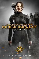 Hunger Games 3 Mockingjay P1 Blu-Ray & DVD +Slipcover•New* No Digital +Free Ship