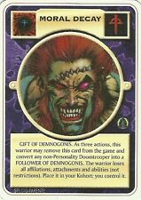 DOOMTROOPER: MORAL DECAY ENGLISH MORTIFICATOR MINT MUTANT CHRONICLES CCG