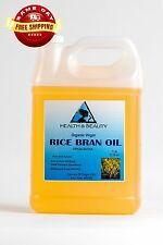 RICE BRAN OIL UNREFINED ORGANIC CARRIER COLD PRESSED VIRGIN RAW PURE 7 LB
