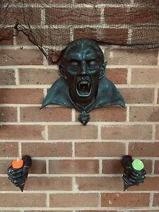 Rare Count Dracula Wall Mounted Halloween Prop Decoration- Rare Piece