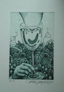 DUSAN POLAKOVIC *1950 SLOVAKIA-CHEERS-SPIRITS OF WINE-NUDES-EXL.-EA.SIGNED2013