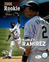 HANLEY RAMIREZ JSA CERTIFIED AUTHENTIC HAND SIGNED 8X10 PHOTO AUTOGRAPH