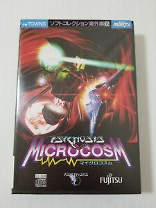 Fujitsu FM Towns Marty Game Microcosm Japan 0805A4