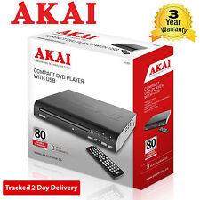 Akai A51002 Compact Lecteur DVD avec USB - Multizone