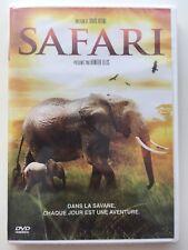 DVD neuf °°SAFARI°° Documentaire animaux réserves d'Afrique
