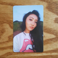 Hwasa Official Photocard Mamamoo 6th Mini Album Yellow Flower Kpop Genuine