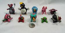 Lot of 10 Assorted Bobble Head Various Animals Elephant Monkey Camel Bunny Frog