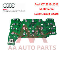 Audi Q7 2010 to 2015 Multimedia Keys E380 Circuit Board