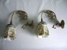 Brass Art Nouveau Original Antique Lamps