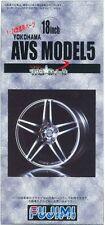 Fujimi TW09 1/24 AVS Model 5 Wheel & Tire Set 18 inch from Japan