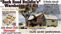 "Scale Model Masterpieces/Yorke ""Back Road Buildin's"" The Warehouse #2 Kit O/1;48"
