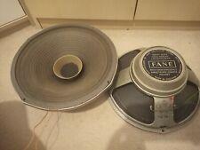 """FANE Heavy Duty High Fidelity 12"""" Loudspeaker 8ohm full range Worldwide"""