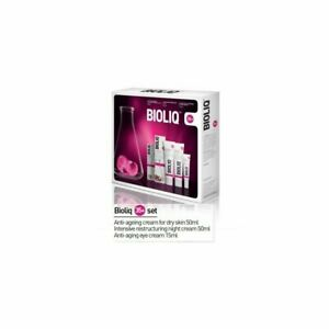 BIOLIQ SET for dry skin 35+Day cream 50ml,night cream 50ml,anti age eyes cream