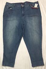 Gloria Vanderbilt Size 24W Amanda Ankle Jeans Cabos Wash Heritage Fit Plus NWT