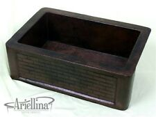 Ariellina Farmhouse 14 Gauge Copper Kitchen Sink Lifetime Warranty New AC1811