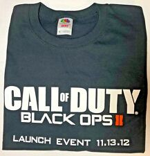 Call of Duty Black Ops II T-Shirt Men's XL Launch Event 11.13.12