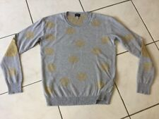 Pull ARMANI JEANS taille 38/40 gris impeccable