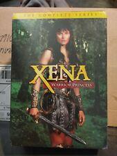 Xena: Warrior Princess -The Complete Series Subtitled DVD option Lightweight Box