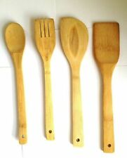 Unbranded Wooden Easy Clean Cooking Spatulas