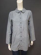 45rpm 100 % cotton top / shirt / blouse NEW with TAG    size 3   light indigo
