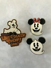 Mickey Halloween Ghost Pin Collection - Pin #57919 and #72103