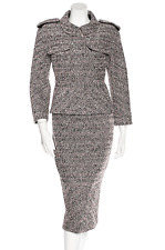 CHANEL 13A $8.9K MOST WANTED LESAGE METALLIC TWEED JACKET SKIRT SUIT 42 NEW