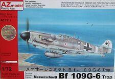 Az models 1/72 AZ7511 messerschmitt Bf109G-6 trop kit