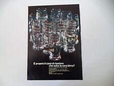 advertising Pubblicità 1967 BEER BIRRA PRINZ BRAU