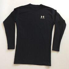 Under Armour Men's Tight Fit Athletic Sweatshirt Longsleeve RN96510 Black SizeXL