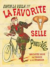 Publicité viola vélo siège de selle favorite vintage bike france poster BB8048B
