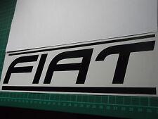 FIAT panel skirt car vinyl sticker decal x2