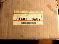 NOS 1984-1985-1986 Genuine Nissan Pulsar NX Sentra 1.6L E16 Radiator Fan Motor