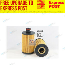 Wesfil Oil Filter WCO160 fits Ssangyong Actyon Sports 2.0 Xdi 4x4