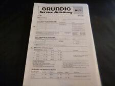 Original Service Manual Schaltplan Grundig RF 830