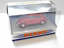 VW Volkswagen Brezelkäfer Split window bug rot red, Dinky DY6-C in 1:43 boxed!