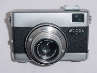 WERRA 1 35mm Film Camera with Carl Zeiss Tessar 50mm F/2.8 Lens ** Ex+++