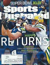 "Jermaine Kearse Sports Illustrated Magazine ""SUPER BOWL XLIX ""SEAHAWKS"""