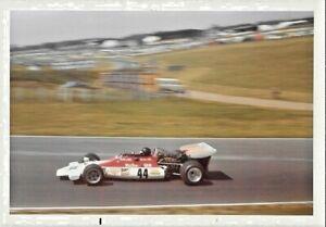 PETER REVSON MARLBORO BRM P160 1972 THURSDAY BRITISH GRAND PRIX GP PHOTOGRAPH