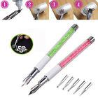 UV GEL & Acrylic Nail Art Design Dotting Painting Drawing Pen Polish Brush Set